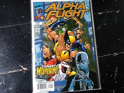 Marvel comics Alpha flight vol 2 #9