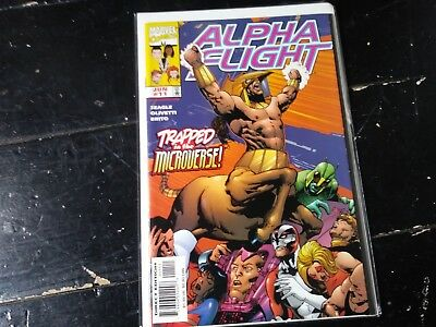 Marvel comics Alpha flight vol 2 #11