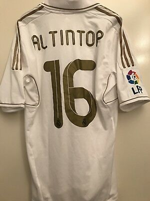 Maglia Real Madrid Match Worn Shirt Altintop Player Issued Camiseta Trikot