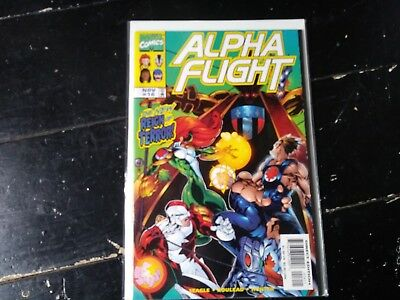 Marvel comics Alpha flight vol 2 #16