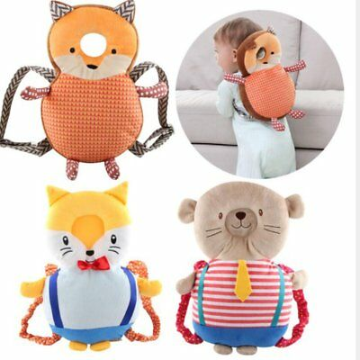 Baby Head Protection Pad Toddler Headrest Pillow Kids Back Care Pillow Cushion N
