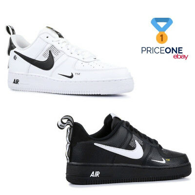 Nike Air Force 1 07 LV8 Utility White Black Mens women Shoes sneakers Pick 1