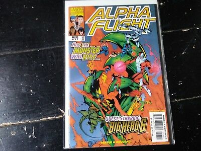 Marvel comics Alpha flight vol 2 #17 first appearance big hero 6