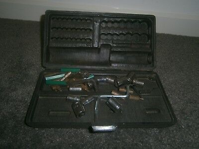 Vintage Tool Set in original Case Pocket set Handy man