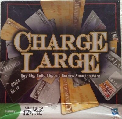 Charge Large Board Game In New/sealed Box By Hasbro Family Fun Game 2-4 Players