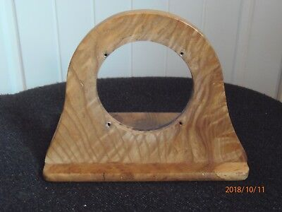 Antique, vintage mantle or car clock wooden case.