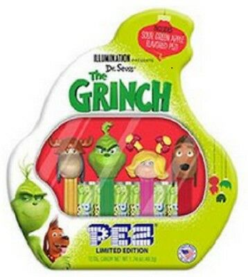 Dr. Seuss' The Grinch Pez Limited Edition Tin Set - New For 2018 - Ready To Ship