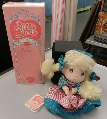 """Precious Moments """"Doll Of The Month July"""" 1991 by Applause 16638"""