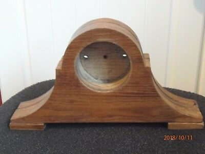 Antique, vintage mantle clock or car clock wooden case.