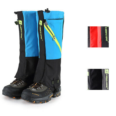 1 Pair Leg Gaiters Waterproof Anti-Dust Outdoor Sports Warm Boot Shoes Cover