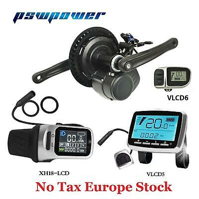EU TSDZ2 pswpower 48V500W/750W Central Mid Drive Motor Conversion Ebike Kit