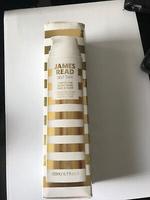 James Read Self Tan 1 Hour Tan Glow Mask Face & Body 200ml