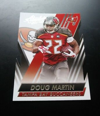 Doug Martin Buccaneers Cut #41 Panini Absolute 2014 NFL Football Card