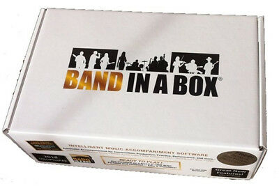 PG Music Band in a Box Audiophile 2018 MAC, Composition & Accompaniment