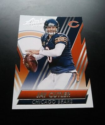 Jay Cutler Chicago Bears Cut #83 Panini Absolute 2014 NFL Football Card