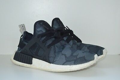 best sneakers 593aa a7702 Adidas NMD XR1 Core Black Duck Camo Mesh White BA7231 NMD XR1 Mens Size 9