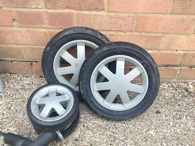 Quinny Buzz front and Back Rear Wheel wheels pair