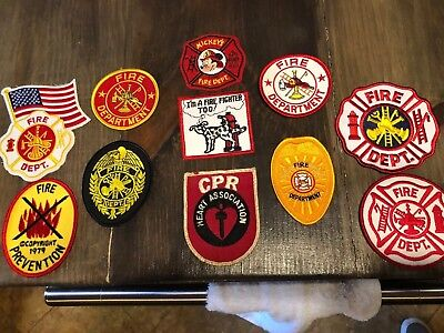 New And Used Firefighter Patches