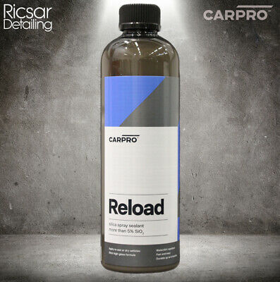 CarPro Reload 500ml Sio2 Spray Sealant / Ceramic Booster (Trigger Included)