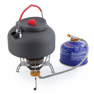 1.4L Outdoor Kettle Picnic Camping Cookware Teapot Water Pot Aluminum New TY