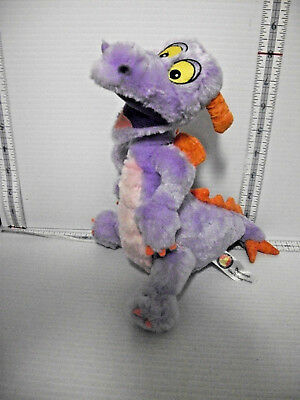 Disney Plush Purple Figment Stuffed Toy Disney Parks Disneyland Disney World 9""