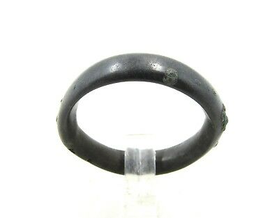 Authentic Medieval Crusaders Era Bronze Ring - Wearable - H8