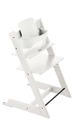 Stokke Tripp Trapp Baby Set, White - Baby Kids High Chair 6mo - 3 years