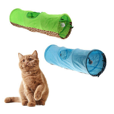 Indoor Pet Cat Tunnel Tube Collapsible Rabbit Kitten Playing Funny Toy