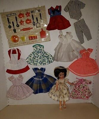 Vintage 1957 Arranbee R&b Coty Girl Circle P Mark Doll & Clothes Beautiful!