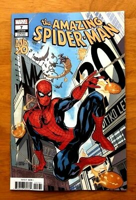 Amazing Spider-Man 7 Cover C Variant Terry Dodson MKXX Cover Marvel 2018 NM+