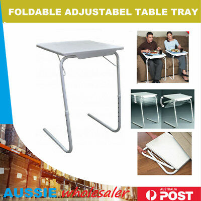 Portable Foldable Adjustable Laptop Desk Computer Table Stand Tray Bed Sofa US