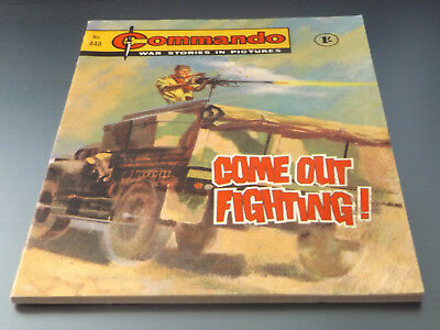 Commando War Comic Number 448 !!,1969 Issue,excellent For Age,49 Years Old,rare.