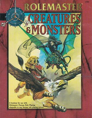 Rolemaster Creatures & Monsters I.C.E. ICE 5802