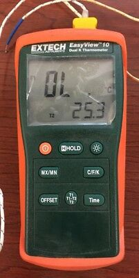 Extech EasyView 10 Dual K Thermometer