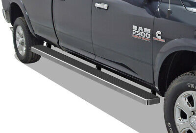 """Wheel to Wheel Running Boards 5"""" Fit 09-18 Ram Crew Cab 6.5ft Bed"""