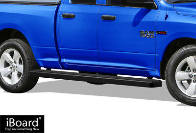 """Wheel to Wheel Running Boards 5"""" Fit 09-18 Ram 1500 Quad Cab 6.5ft Bed"""