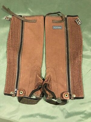 Jeffries Jacson Half Chaps Large Wide Fitting
