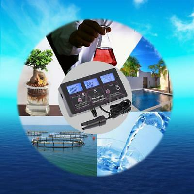 6-In-1 Multi Meter Tester Ec Cf Tds Ph °C °F Redox Online Monitor Aquarium U9B8