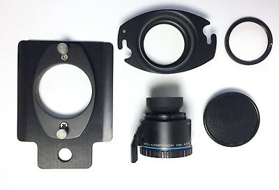 Schneider Apo Componon HM 4.5/90 with Omega Extended Lens Plate + Slide In Mount