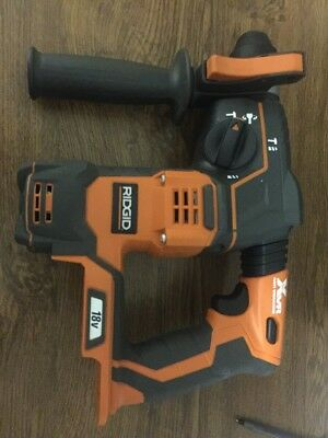 RIDGID R86710 18-Volt Cordless 7/8 in. SDS-Plus Rotary Hammer (Tool Only)