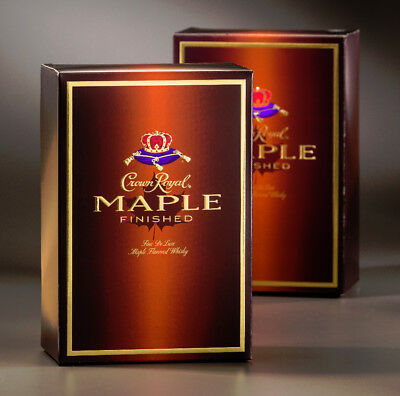 Crown Royal Maple-Retired Limited Edition Collectors-Sealed 1 L