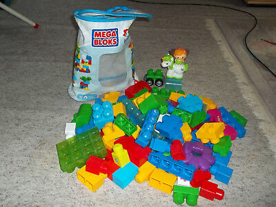 Mega Bloks First Builders Bausteinebeutel ca. 80 Teile Fisher Price