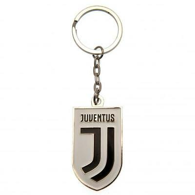 Juventus  FC  Official Football Club  Crested Keyring    FREE (UK) P+P