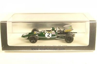 Lotus 69 No.2 Winner Pau GP 1970 (Jochen Rindt)