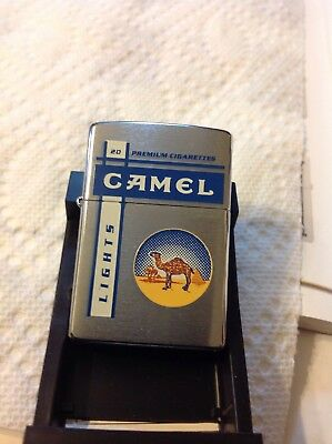 Camel Zippo Filters 20 Brush Chrome Only 200 Made In 1999 Z 504