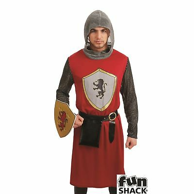 c5d0b0050261e King s Knight Game of Thrones Medieval Historical Adult Mens Fancy Dress  Costume