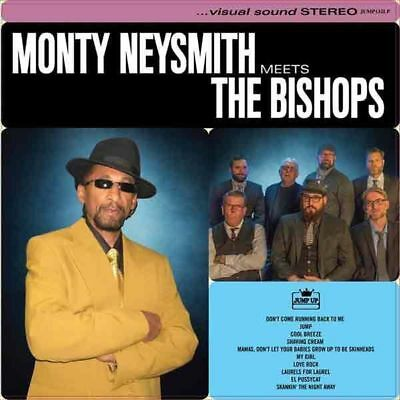 MONTY NEYSMITH MEETS THE BISHOPS LP / Halloween Sale - SKA