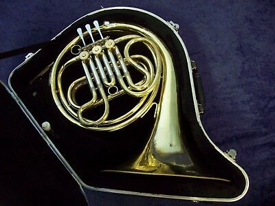 Classic Quality! Ambassador Made By F.e. Olds French Horn Fullerton Ca + Case
