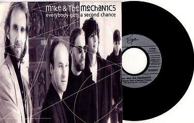Mike & The Mechanics ‎- Everybody Gets A Second Chance / Get Up - 7'' Vinyl