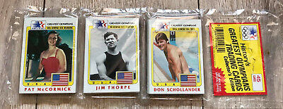 1983 Historys USA Greatest Olympians Trading Cards Collecter Edition Booster OVP